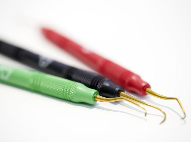 Instrumente zur Behandlung von Paradontitis